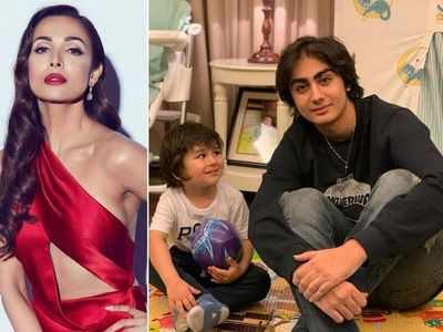 Malaika dedicates a post to the Khan boys!