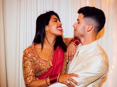 Photos: Priyanka Chopra celebrates first Karwa Chauth with husband Nick Jonas