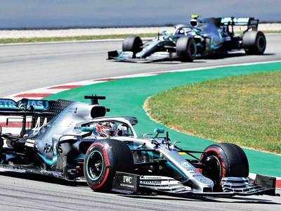 Lewis Hamilton wins Spanish Grand Prix for third consecutive year