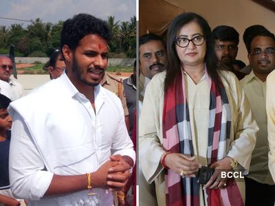 Trends at 11am: Nikhil Kumaraswamy recovers in Mandya; Tejasvi Surya surges ahead of BK Hariprasad; HD Deve Gowda trailing