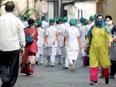 COVID-19: Sack threat works, 700 ward boys and nurses rejoin duty