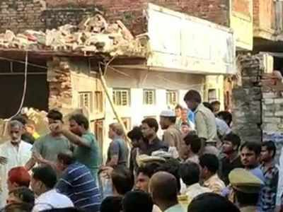 12 killed in cylinder explosion in UP's Mau district