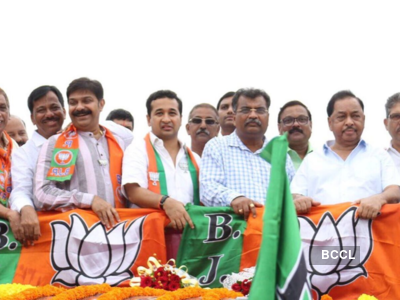 Nitesh Rane files nomination from Kankavli as BJP candidate