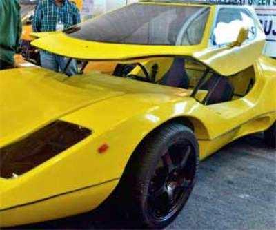 'Made in Gujarat' Green car debuts at auto show
