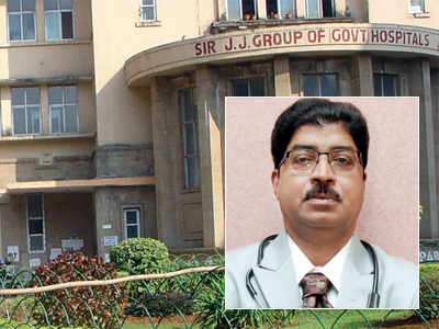 JJ Hospital Dr SD Nanandkar transferred to govt medical college in Kolhapur because his phone was switched off