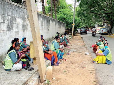 BBMP staff want quarantine facilities
