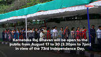 Thousands queue up to catch a glimpse of Raj Bhavan