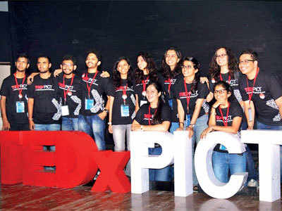 Students organise TEDx talks on curating quality content and being prepared for anything
