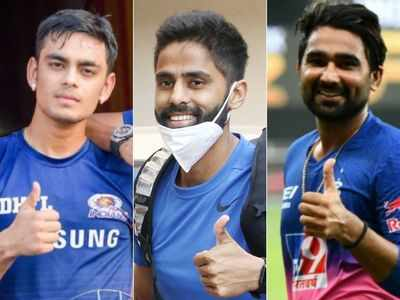 Sachin Tendulkar congratulates Suryakumar Yadav, Ishan Kishan, Rahul Tewatia on maiden call-up for T20Is