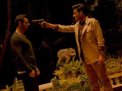 Satyameva Jayate movie review: John Abraham, Manoj Bajpayee's action thriller has a dated concept