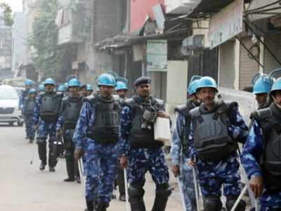 Day after violent protests, tight security in Lucknow
