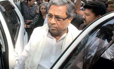 The figure of Siddaramaiah