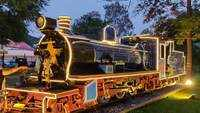 Mysuru: Rail Museum decorated with colourful lights for festive season