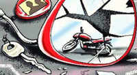 Thane: 5-year-old run over by tempo after falling off bike