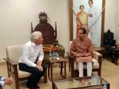 Richard Branson meets Maharashtra Chief Minister Uddhav Thackeray over Mumbai-Pune Hyperloop project