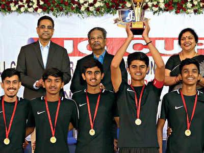 Hosts triumph in JG Cup