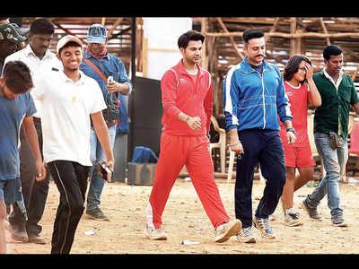 Rajkummar Rao, Nushrat Bharucha and Zeeshan Ayyub shoot for Turram Khan