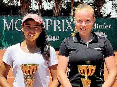 Doubles delight for Gauri