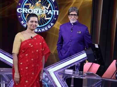 Kaun Banega Crorepati 12 contestant Runa Saha is first contestant to reach hot seat without playing fastest finger first