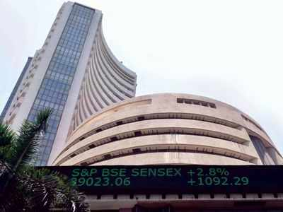 Sensex jumps 200 points to hit record high; Nifty peaks at 12,126