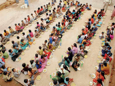 Mid-day meals for private schools too?