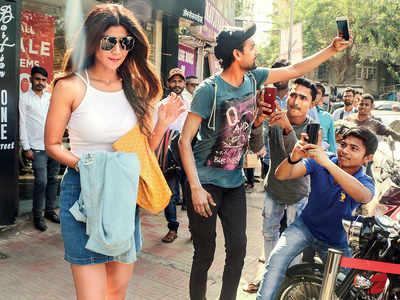 Spotted: Shilpa Shetty Kundra in Bandra