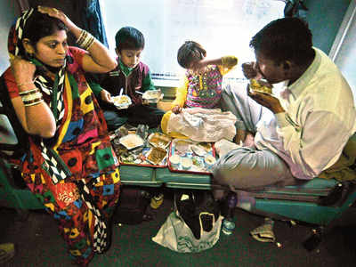 Trains may replace thalis from the menu with packaged food and ready-to-eat products