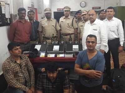 RPF officials seize gold worth more than Rs 23 lakh, arrest three smugglers