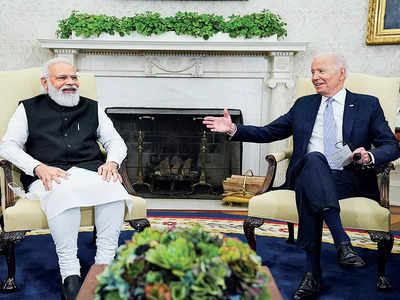 'US Prez taking steps to implement his vision for Indo-US relations'