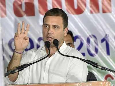 Hyderabad: Rahul Gandhi attacks Asaduddin Owaisi at MIM's stronghold, Charminar