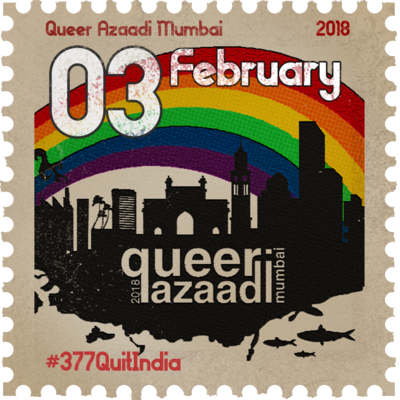 Queer Azaadi Mumbai Pride month begins on January 5, 2018, to host events around theme 'Section 377 Quit India'