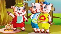 Kids Stories | Nursery Rhymes & Baby Songs - 'The Three Little Pigs'- Kids Nursery Story In English