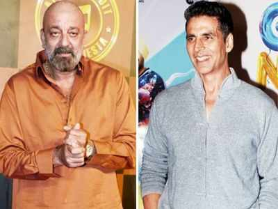 Akshay Kumar, Sanjay Dutt's bromance on the sets of Prithviraj