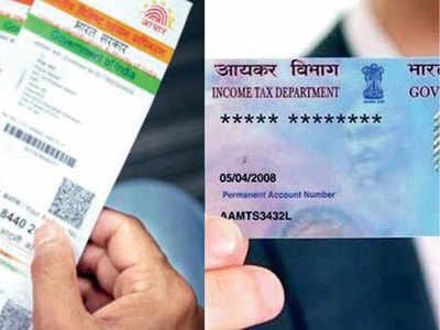 Link Aadhaar-PAN for taxes by Mar 31: CBDT