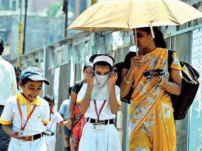 Schools change timings to beat heat