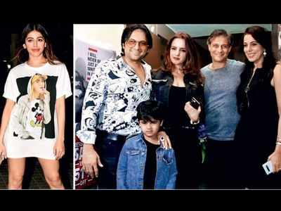 Alaya F's entire family attend Jawaani Jaaneman screening