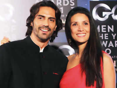 Arjun Rampal and Mehr Jessia: A Separation