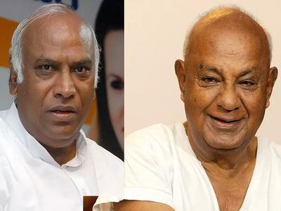 Rajya Sabha Elections: HD Deve Gowda, Mallikarjun Kharge get elected unopposed