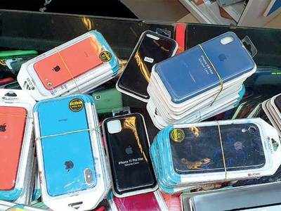 Duplicate mobile accessories worth Rs 1.37 lakh seized