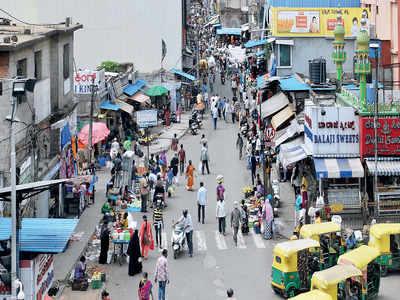 Cluster lockdown is back in Bengaluru