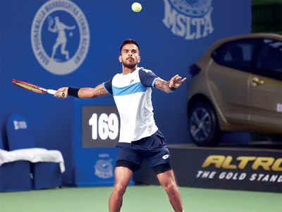Maharashtra Open: First round blow for Sumit Nagal