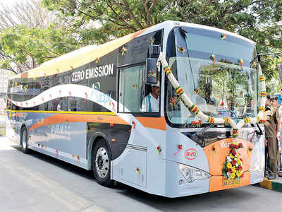 Watt an idea!  BMTC e-buses