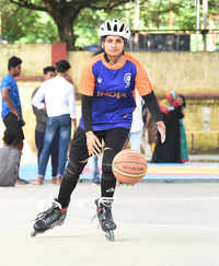 Roll ball player Sreelekshmi BS