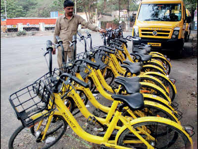 PMC faltered, but cycle sharing is on track for... PCMC
