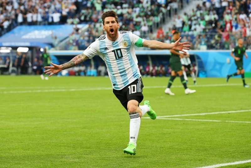 Argentina hits back with 2-1 win over Nigeria