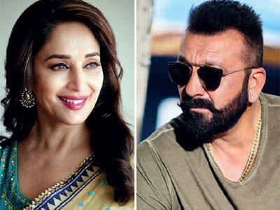 Kalank: Sanjay Dutt, Madhuri Dixit reunite on screen after 21 years
