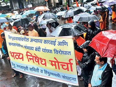 Narendra Dabholkar Murder: 3 more detained, Sanatan Sanstha protests