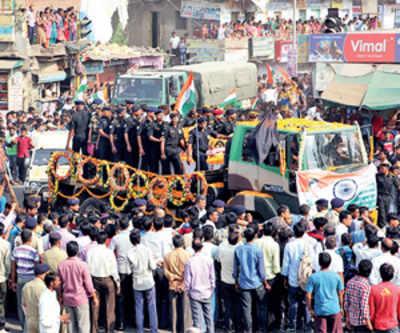 No politics: martyr's family