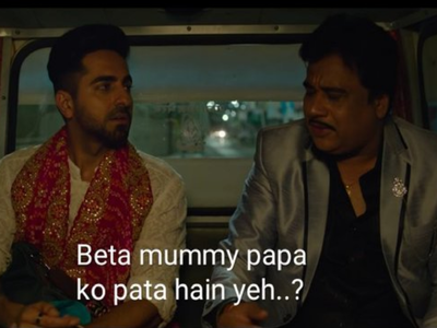 Twitter reacts to Ayushmann Khurrana's Shubh Mangal Zyada Saavdhan trailer with memes
