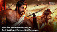 Ram helps in the Tamil dubbing of Mamangam